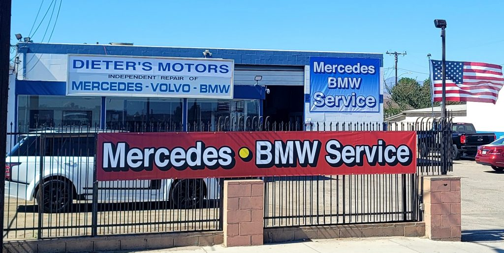 Mercedes and BMW Service   Dieter's Motors